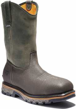 Timberland PRO TMA2297 True Grit, Men's, Brown, Comp Toe, EH, WP, Pull On Boot