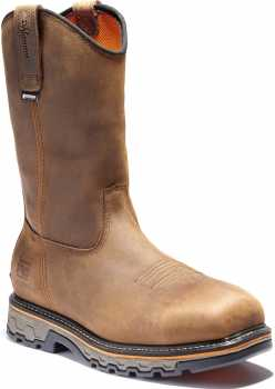 Timberland PRO TMA24BH True Grit, Men's, Brown, Comp Toe, EH, WP, Pull On Boot