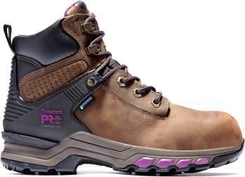Timberland PRO TMA24W8 Hypercharge, Women's, Black, Comp Toe, EH, WP, 6 Inch