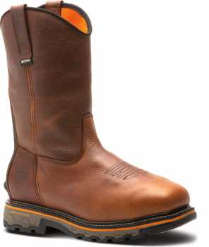 Timberland PRO TMA25F5 True Grit, Men's, Brown, Comp Toe, EH, WP, Pull On Boot
