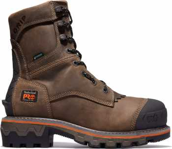 Timberland PRO TMA29G9 Boondock HD, Men's, Brown, Comp Toe, EH, WP, 8 Inch