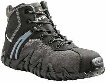 Terra TR608285BLK Venom, Men's, Black, Comp Toe, SD, PR, Mid High Athletic