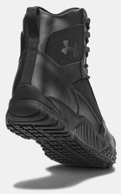Under Armour UA1276375 Men's Black, Comp Toe, 8 Inch, Tactical Boot