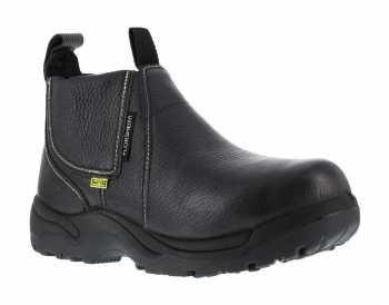 Florsheim WGFE690 Black, Men's, Steel Toe, Internal Met Guard, EH, Quick Release 6 Inch Work Boot