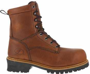 Florsheim WGFE860 Lumberjack, Men's, Brown, Comp Toe, EH, 9 Inch, Waterproof Logger