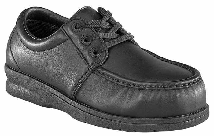 Florsheim WGFS200 Black, Men's, Steel Toe, SD, Comfortech Pucker Moc Casual Oxford