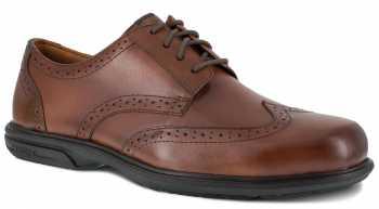 Florsheim WGFS2023 Loedin, Men's, Brown, Steel Toe, SD, Wing Tip Oxford