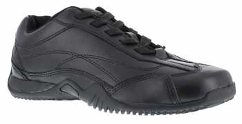 Grabber WGG117 Women's, Black, Soft Toe, Slip Resistant, Euro Casual Oxford