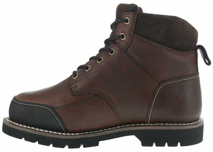 Iron Age WGIA0163 Dozer, Men's, Brown, Steel Toe, EH, Mt, 6 Inch Boot