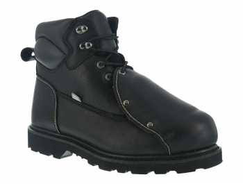 Iron Age WGIA5016 Ground Breaker, Men's, Black, Steel Toe, EH, Mt, 6 Inch Boot
