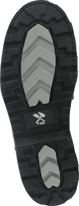 Iron Age WGIA5016 Ground Breaker, Men's, Black, Steel Toe, EH, Mt, 6 Inch Boot