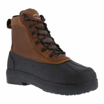Iron Age WGIA965 Brown/Black Steel Toe, EH, Waterproof Women's Boot