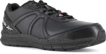 Reebok Work WGIB3501 Guide Work, Men's, Black, Steel Toe, EH, PR Cross Trainer