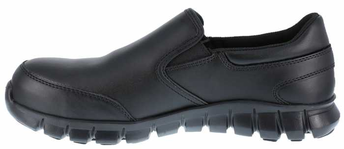 Reebok Work WGRB036 Sublite Cushion Work, Women's, Black, Comp Toe, SD, Slip On