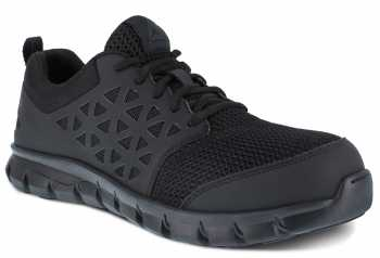 Reebok Work WGRB039 Sublite Work, Women's, Black, Comp Toe, SD, Low Athletic