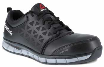 Reebok Work WGRB049 Sublite Work, Women's, Black, Alloy Toe, CD, Low Athletic