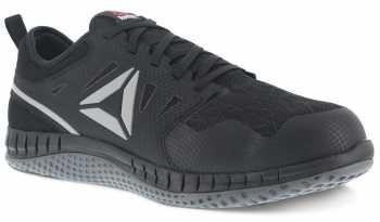 Reebok WGRB251 ZPRINT, Women's, Black/Grey, Steel Toe, SD, Work Athletic