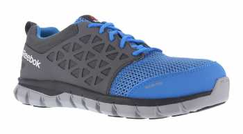Reebok RB4040 Unisex Blue/Grey, XTR Alloy Toe, SD, Sublite Athletic Oxford