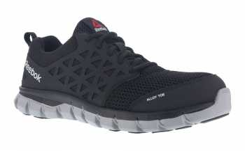 Reebok WGRB 4041 Unisex Black, XTR Alloy Toe, EH, Sublite Athletic Oxford
