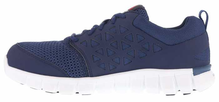 Reebok Work WGRB4043 Sublite Cushion Work, Men's, Navy, Alloy Toe, SD Athletic