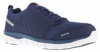Reebok WGRB4043 Sublite Cushion Work, Men's, Navy, Alloy Toe, SD Athletic
