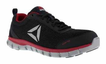 Reebok WGRB4150 SubLite Sport Men's, Black/Red, Alloy Toe, EH, Low Athletic