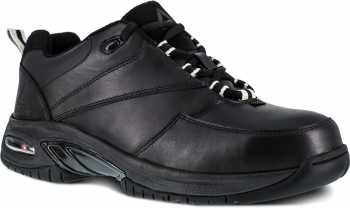 Reebok Work WGRB4177 Black Comp Toe, Conductive, Men's High Performance Athletic Oxford