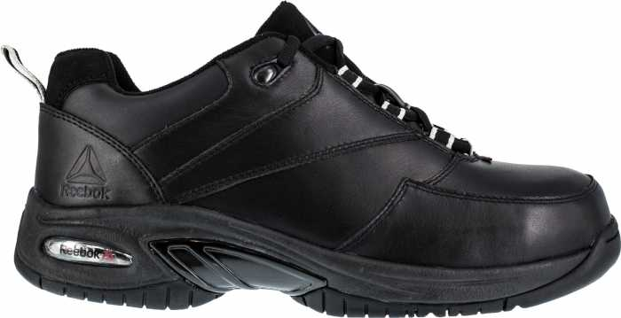 Reebok WGRB4177 Black Comp Toe, Conductive, Men's High Performance Athletic Oxford