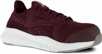 Reebok WGRB429 Flexagon 3.0 Work, Women's, Burgundy, Comp Toe, SD, Low Athletic