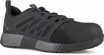 Reebok Work WGRB4310 Floatride Core, Men's, Black/Grey, Comp Toe, EH, Low Athletic