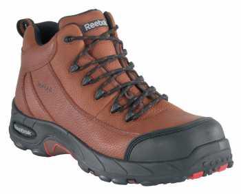 Reebok WGRB4444 Brown Comp Toe, EH, Waterproof Men's Sport Hiker
