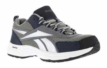 Reebok WGRB4805 Grey/Navy, Steel Toe, SD, Men's, Athletic Cross Trainer