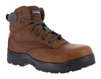 Rockport Works WGRK6628 Deer Tan Comp Toe, EH, Waterproof, Men's 6 Inch Boot