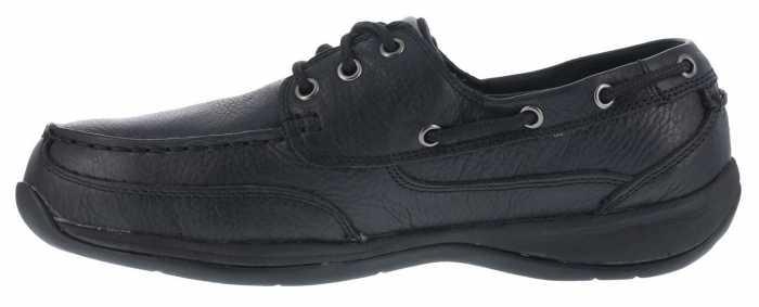 Rockport WGRK6738 Sailing Club, Men's, Black, Steel Toe, SD, Boat Shoe