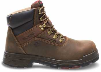 Wolverine WW10315 Cabor, Men's, Dark Brown, Soft Toe, WP, 6 Inch Boot
