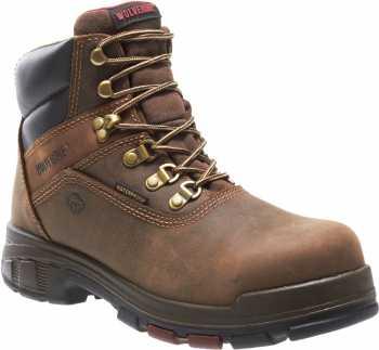 Wolverine WW10315 Cabor, Men's, Dark Brown, Soft Toe, WP, 6 Inch Boot