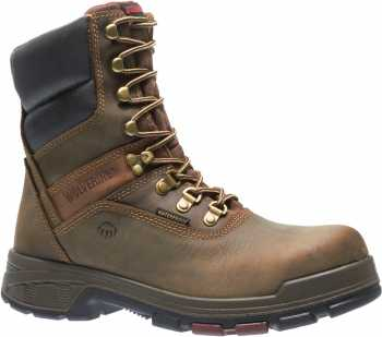 Wolverine WW10316 Cabor EPX, Men's, Dark Brown, Comp Toe, EH, WP, 8 Inch