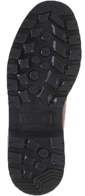 Wolverine WW10633 Floorhand Men's, Dark Brown, Steel Toe, EH, 6 Inch, Waterproof Boot