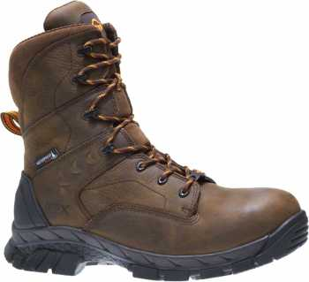 Wolverine WW10645 Glacier Ice EXP CarbonMAX, Men's, Brown, 8 Inch, Waterproof Boot