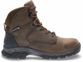 Wolverine WW10648 Glacier Ice Men's, Brown, Waterproof, Insulated, 6 Inch Boot