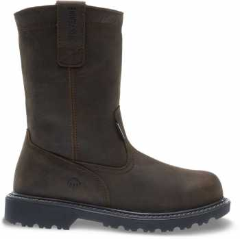 Wolverine WW10680 Floorhand Welly Men's, Brown, Steel Toe, EH, Pull On Boot