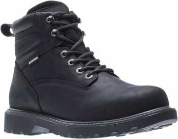 Wolverine WW10694 Floorhand, Men's, Black, Steel Toe, EH, WP, 6 Inch Boot