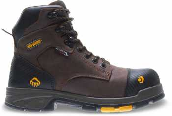Wolverine WW10706 Blade X, Men's, Brown, Waterproof, Comp Toe, EH, Met Guard