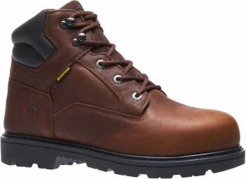 Wolverine WW10877 Farmhand, Men's, Rust, Steel Toe, EH, WP, 6 Inch Boot