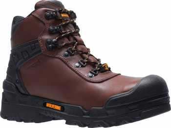 Wolverine WW10926 Warrior, Men's, Brown, Comp Toe, EH, WP, 6 Inch
