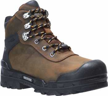 Wolverine WW10942 Warrior, Men's, Dark Coffee, Comp Toe, EH, Mt, WP Hiker