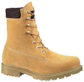 Wolverine WW1149 Wheat Soft Toe, Waterproof, Insulated Men's 8 Inch Work Boot