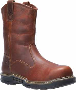 Wolverine WW191069 Raider II, Men's, Peanut, CarbonMAX Toe, EH, 10 Inch Boot