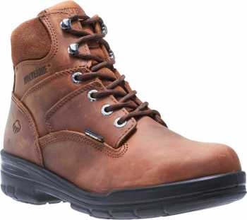 Wolverine WW2053 Durashocks, Men's, Brown, Steel Toe, EH, 6 Inch Boot