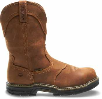 Wolverine WW2287 Anthem, Men's, Brown, Steel Toe, EH, WP Wellington
